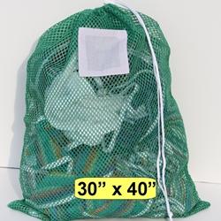 Green Mesh Laundry Bag