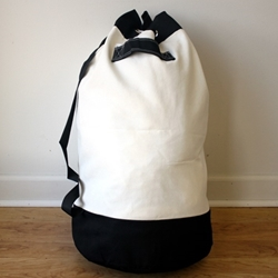 Canvas Laundry Bag 24 X 30 Shoulder Strap